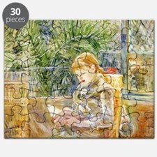 Girl Reading Puzzle