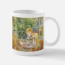 Girl Reading Mug
