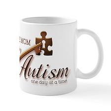 Au-some Mom Unlocking Autism Mug
