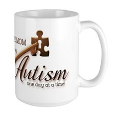 Au-some Mom Unlocking Autism Mug