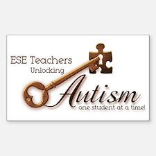ESE Teachers Unlock Autism Decal