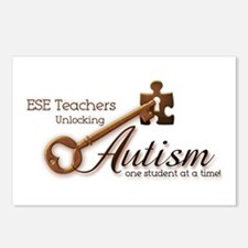 ESE Teachers Unlock Autism Postcards (Package of 8