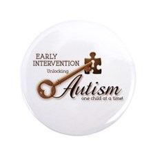 "E.I. Unlocks Autism 3.5"" Button"