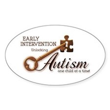 E.I. Unlocks Autism Decal