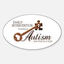 E.I. Unlocks Autism Decal