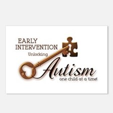 E.I. Unlocks Autism Postcards (Package of 8)