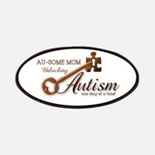 Au-some Mom Unlocking Autism Patches