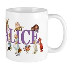 Alice & Friends in Wonderland Small Mugs