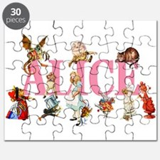 Alice & Friends in Wonderland Puzzle