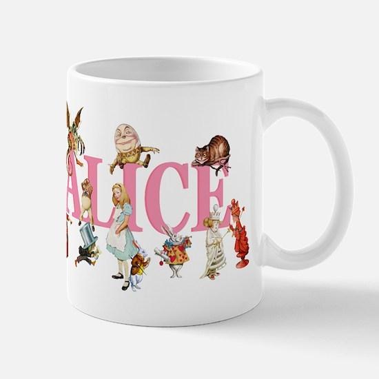 Alice & Friends in Wonderland Mug