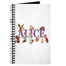 Alice & Friends in Wonderland Journal