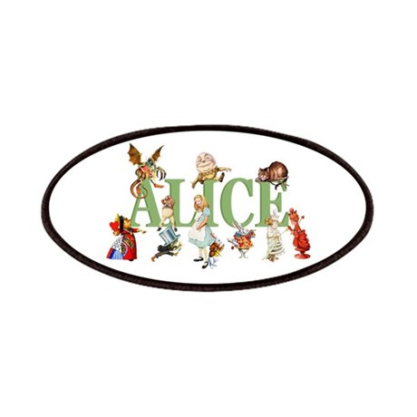Alice & Friends in Wonderland Patches