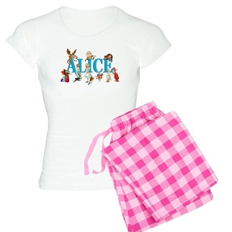 Alice & Friends in Wonderland Women's Light Pajama