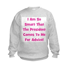 Presidential Advice - Pink Sweatshirt