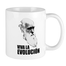 Charles Darwin Face of Evolution Mug