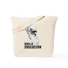 Charles Darwin Face of Evolution Tote Bag