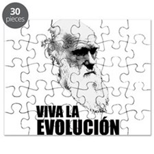 Charles Darwin Face of Evolution Puzzle