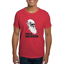 Charles Darwin Face of Evolution T-Shirt