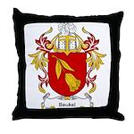Beukel Coat of Arms Throw Pillow