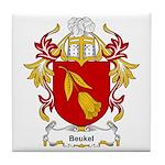 Beukel Coat of Arms Tile Coaster