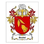 Beukel Coat of Arms Small Poster