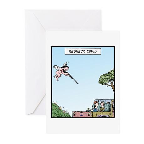 Redneck Cupid Greeting Cards (Pk of 10)