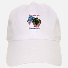 Powerful Eagle Baseball Baseball Cap