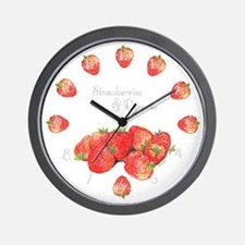 Strawberry Dream Wall Clock