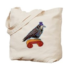 Well Dressed Raven Tote Bag