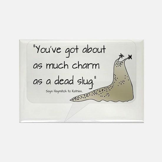 Dead Slug Rectangle Magnet
