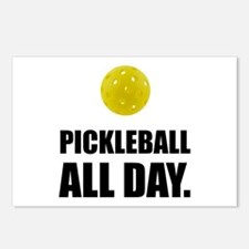 Pickleball All Day Postcards (Package of 8)
