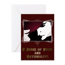 Sense of Poise & Rationality Greeting Cards (Packa