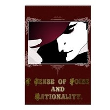 Sense of Poise & Rationality Postcards (Package of