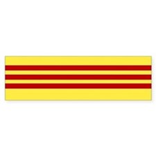 Flag of Vietnam Bumper Bumper Sticker