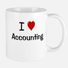 Accounting Gift - I Love Accounting Mug