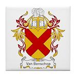 Van Benschop Coat of Arms Tile Coaster