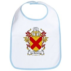 Van Benschop Coat of Arms Bib