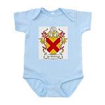 Van Benschop Coat of Arms Infant Creeper