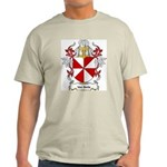 Van Belle Coat of Arms Ash Grey T-Shirt