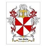 Van Belle Coat of Arms Small Poster