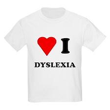Love I Dyslexia T-Shirt