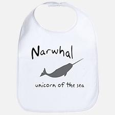 Narwhal Unicorn of the Sea Bib