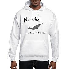 Narwhal Unicorn of the Sea Hoodie