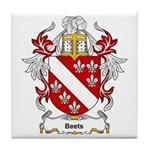 Beets Coat of Arms Tile Coaster