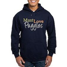 MUST LOVE Puggles Hoodie