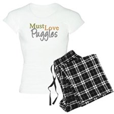 MUST LOVE Puggles Pajamas