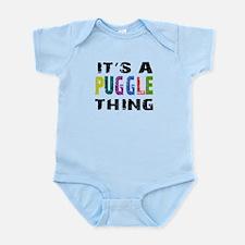 Puggle THING Infant Bodysuit