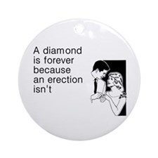 Diamond Is Forever Ornament (Round)
