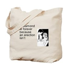 Diamond Is Forever Tote Bag