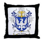 Van Beeck Coat of Arms Throw Pillow